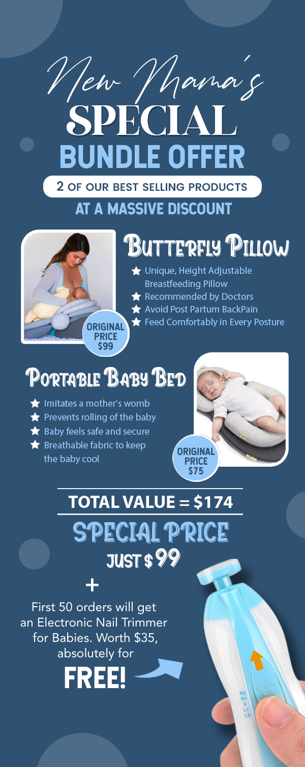 butterfly nursing pillow bundle offer